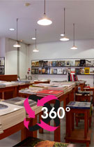 Virtual 360° tour of the Karl Lagerfeld library